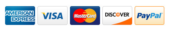 Accept Visa, Mastercard, and Discover
