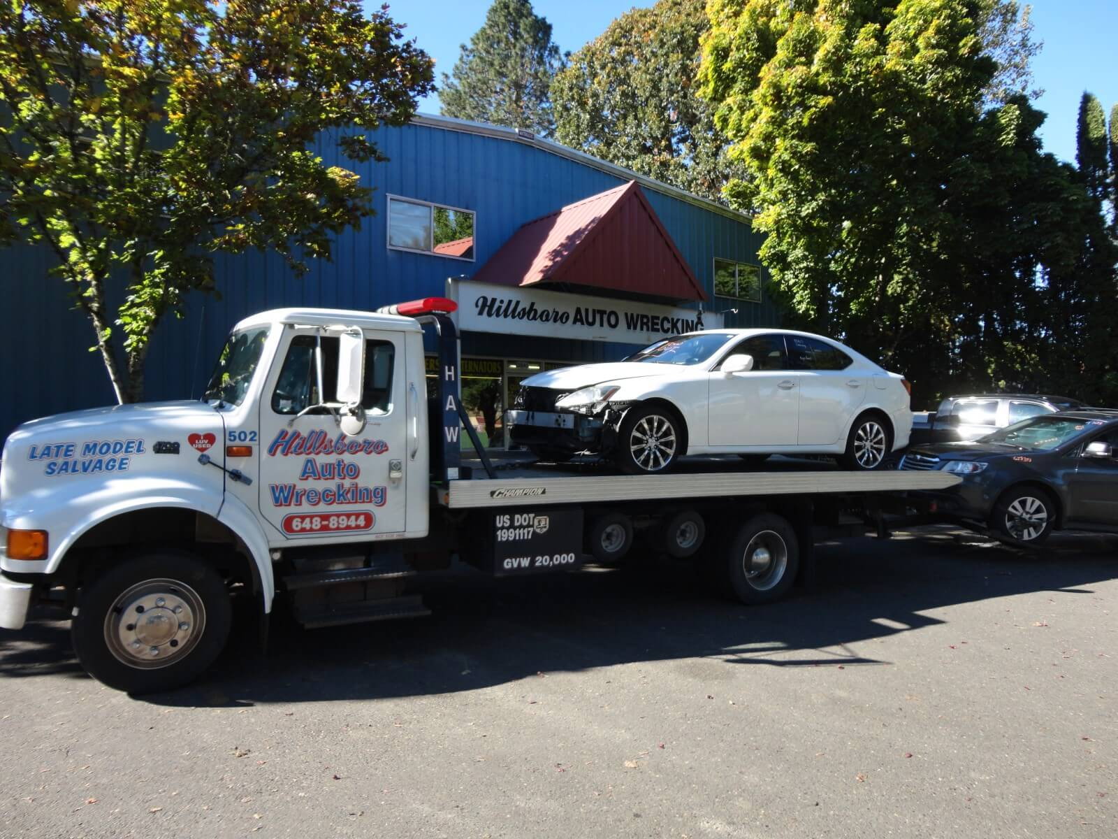 Huge Selection of Quality Used Auto Parts in our Hillsboro, OR Facility