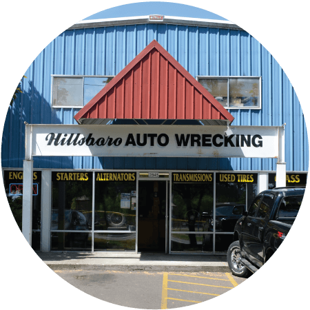 New and used quality auto parts at Hillsboro Auto Wrecking